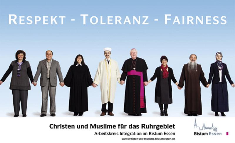 Christen und muslime aus
