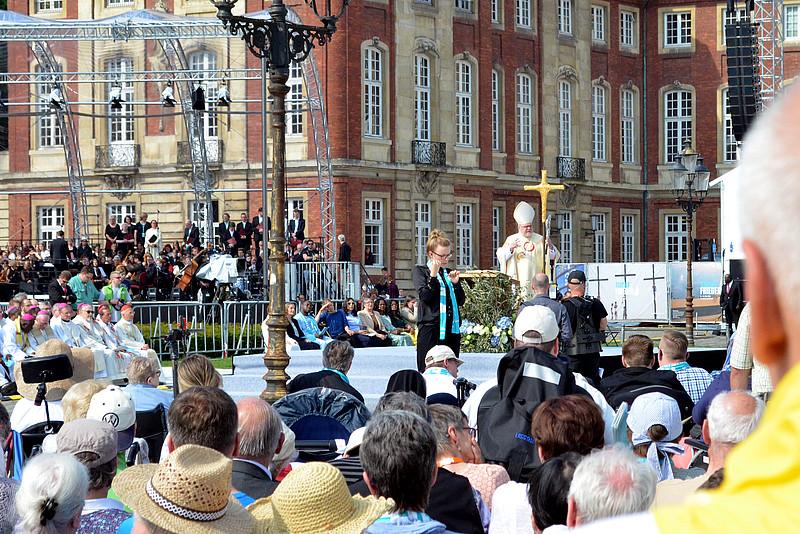 Katholikentag in Münster zeigt ein neues Gesicht der Kirche